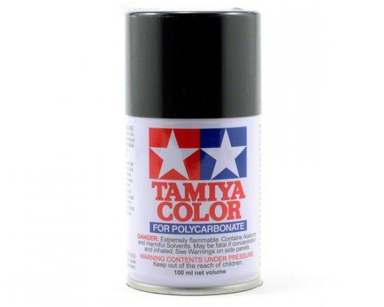 Tamiya Lexan Spray Paint - PS-5 Black