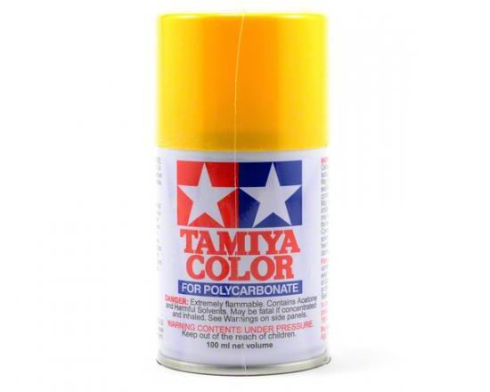 Tamiya Lexan Spray Paint - PS-6 Yellow