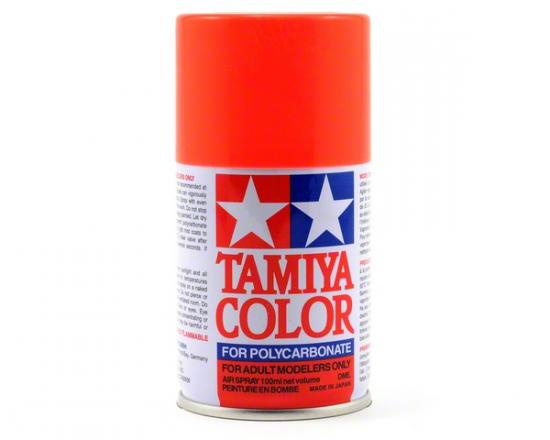 Tamiya Lexan Spray Paint - PS-20 Fluroescent Red