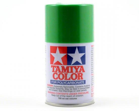Tamiya Lexan Spray Paint - PS-21 Park Green