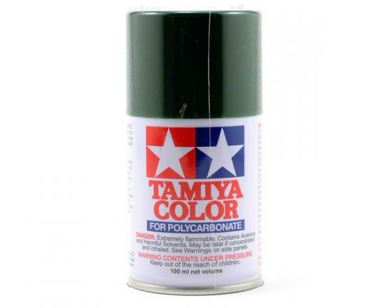 Tamiya Lexan Spray Paint - PS-22 Racing Green