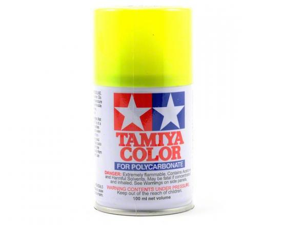Tamiya Lexan Spray Paint - PS-27 Fluroescent Yellow