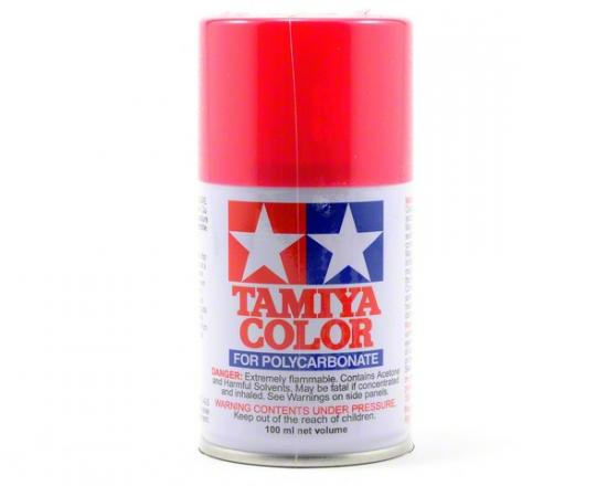 Tamiya Lexan Spray Paint - PS-33 Cherry Red