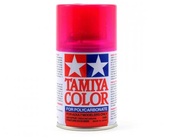 Tamiya Lexan Spray Paint - PS-40 Translucent Pink