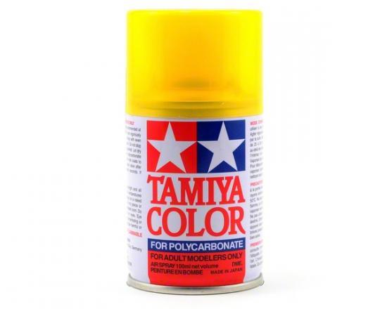 Tamiya Lexan Spray Paint - PS-42 Translucent Yellow Spray