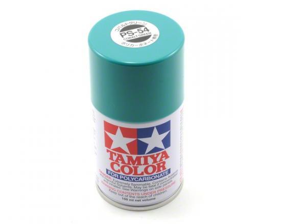 Tamiya Lexan Spray Paint - PS-54 Cobalt Green