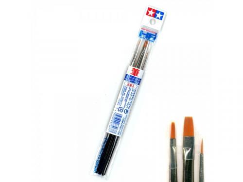 Tamiya Modelling Brush HF Standard - Set of 3 Paint Brushes