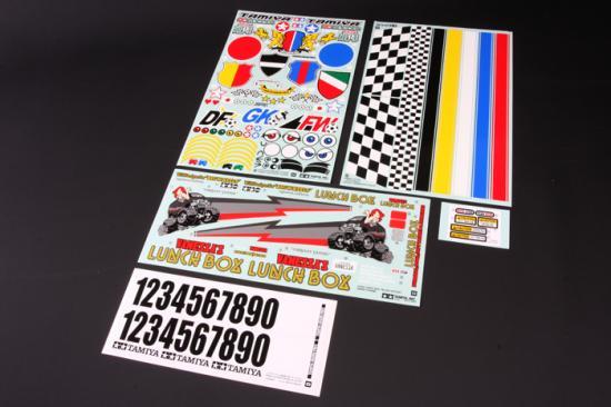Tamiya Sticker For 58546