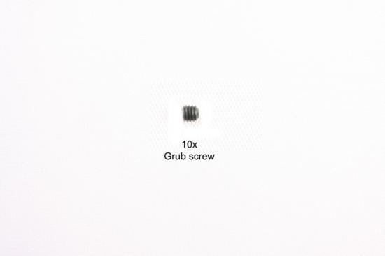 Tamiya 3X2.5mm Grubb Screw 10Pcs