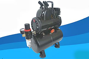 Badger Airbrush Compressor with Anti Pulsation Tank
