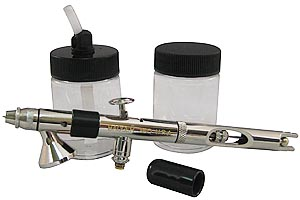 Badger Universal 360 Airbrush - With 2 Jars