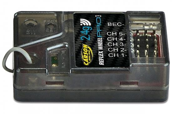 Carson 5 Channel Receiver for Reflex Pro 3
