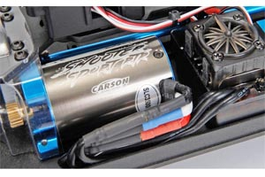Carson Brushless Motor + esc Set Waterproof