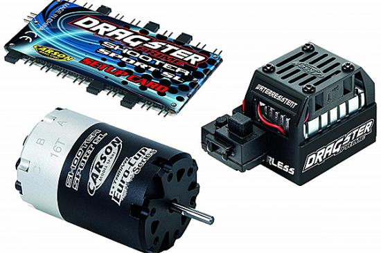 Carson Brushless Motor/Esc Set Dragster16T