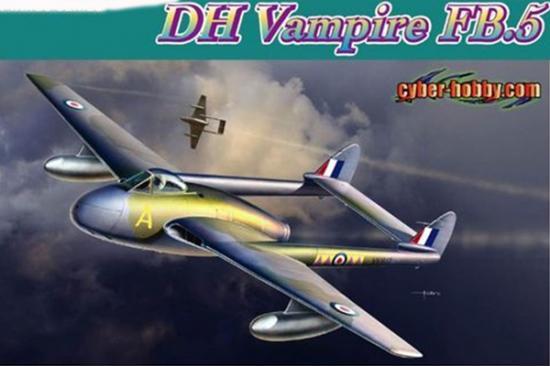 Dragon Ch Fighter Bomber Vampire 1:72