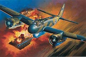 Dragon 1/48 Ju 88P-1 Tank Buster