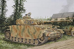 Dragon 1/35 Pz.Kfpw IV Ausf.H Mid Prod