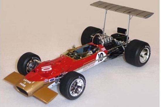 Ebbro Team Lotus Type 49C 1970