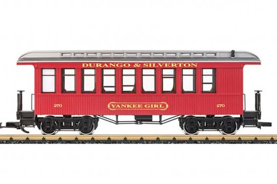 LGB Durango + Silverton Passenger Coach