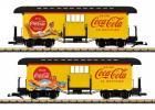 LGB Coca Cola Baggage Wagon