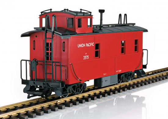LGB Red Caboose(5 Versions Of Lettering