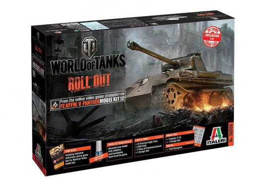Italeri World Of Tanks Panther Ausf A