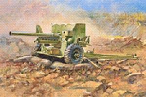 Zvesda British 6 Lb Mk-1 Gun