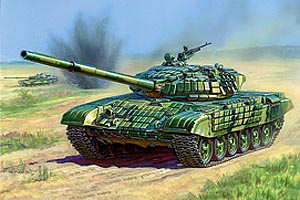 Zvesda Russian Main Battle Tank T-72B
