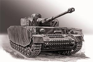 Zvesda Panzer IV Ausf.H