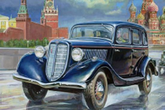 Zvesda Gaz M1 Soviet Car