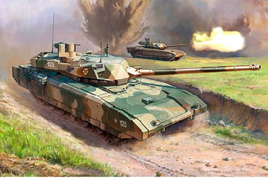 Zvesda Russian Modern Tank T-14 Armata