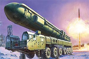 Zvesda Ballistic Missile Launcher Topol