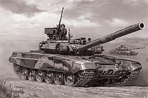Zvesda 1/72 T-90