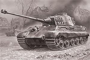 Zvesda 1/72 King Tiger