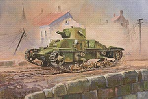 Zvesda British Light Tank Matilda Mki
