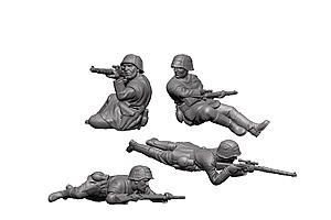 Zvesda 1/72 German Snipers