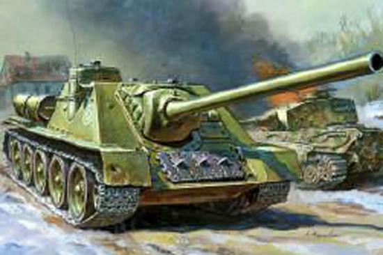 Zvesda Self Propelled Gun Su-100
