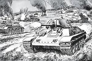 Zvesda Tank Battle (Aot) Wwii