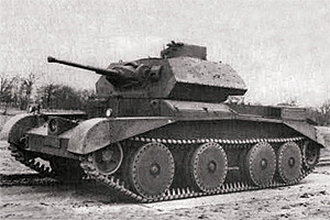 Zvesda 1/100 British Tank Crusader IV