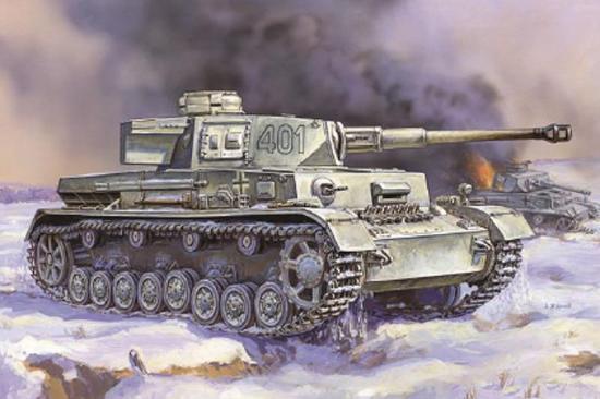 Zvesda Panzer IV Long Gun