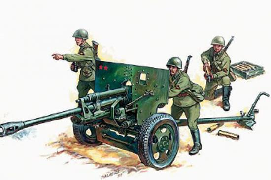 Zvesda Zis-3 Soviet Gun