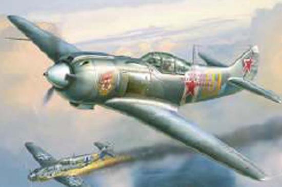 Zvesda La-5 Soviet Fighter