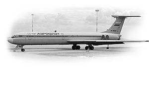 Zvesda 1/144 Ilyushin Il-62M