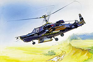 Zvesda Russian Attack Helicopter Hokum