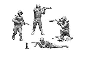 Zvesda 1/72 Soviet Infantry