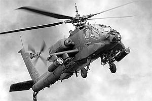 Zvesda 1/144 Apache Helicopter