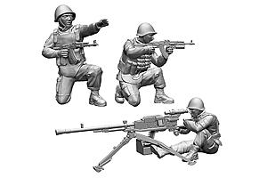 Zvesda 1/72 Soviet Machine Gun Utes