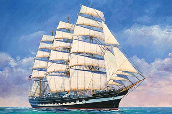 Zvesda Krusenstern Sailing Ship