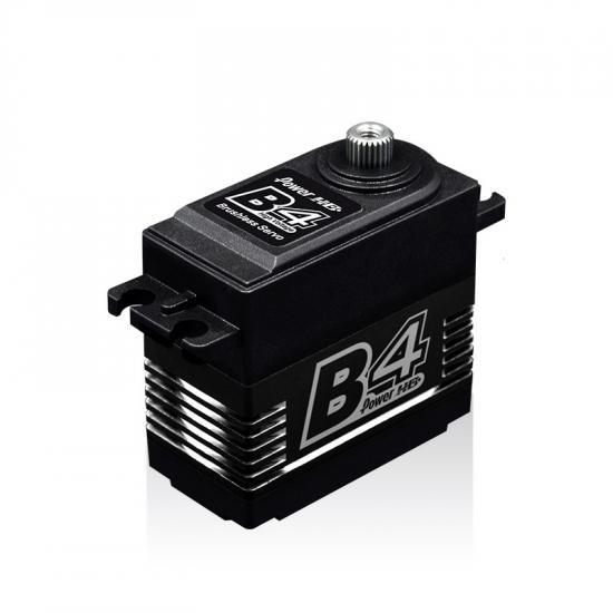 Power HD Servo B4 Brushless Radiateur Alu 6/7.4V (25 Kg/0.085 Sec)