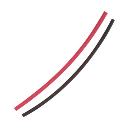 3.2mm Heat Shrink (4X150mm) Red & Black